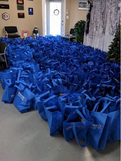 Bags of Food